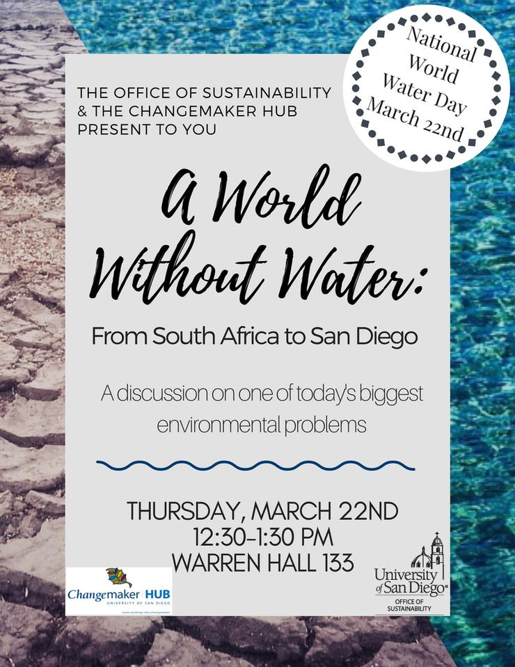 flyer for world without water flyer