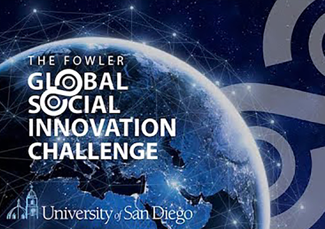 Fowler Global Social Innovation Challenge logo 2020