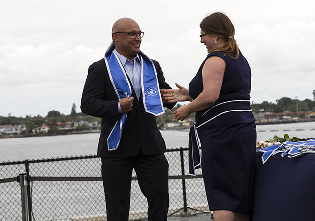MVP Grad 2019 Ceremony - Jhonny Chinchilla and Amanda Etter