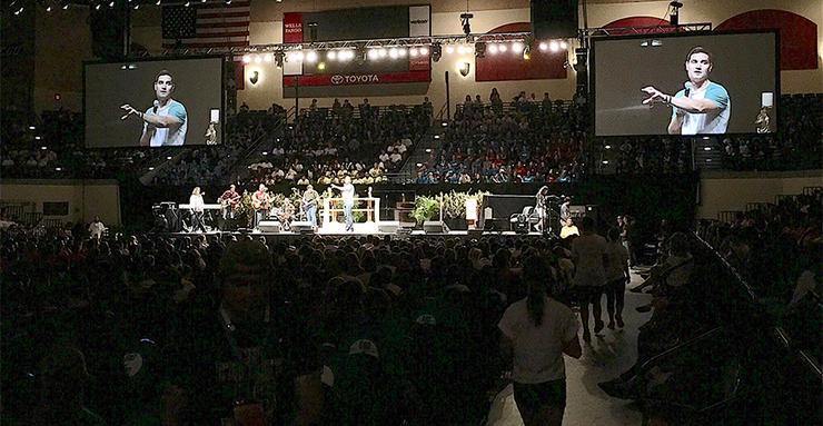 More than 4,000 high-school aged students will continue their faith formation by attending the 15th annual Steubenville Youth Conference on the USD campus, July 28-30.