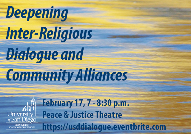 Deepening Inter-Religious Dialogue and Community Alliances