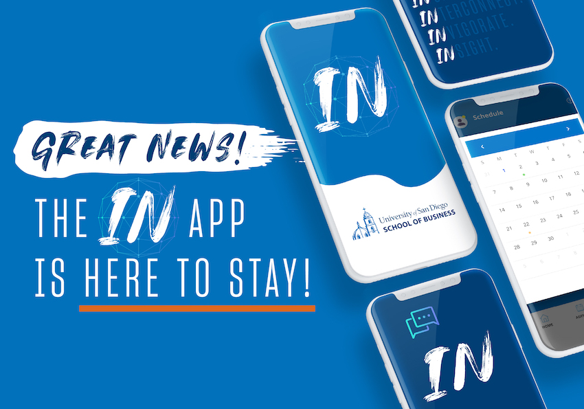 Great News! The IN App Is Here to Stay!