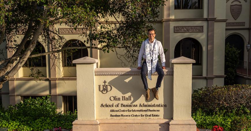 University of San Diego School of Business Real Estate alumnus, Jack Foy '20