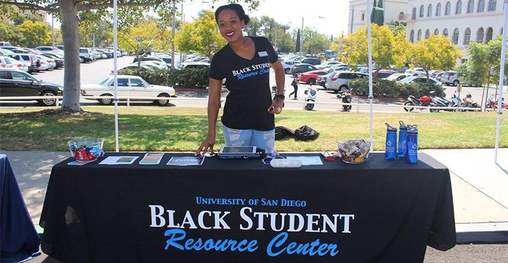The Black Student Resource Center, located in Hahn University Center Room 113, is led by founding director Ashley Barton, EdD.