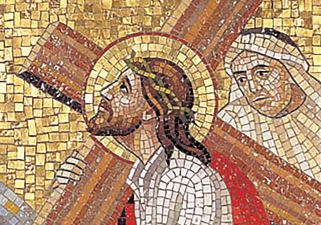 Stations of the Cross mosaic