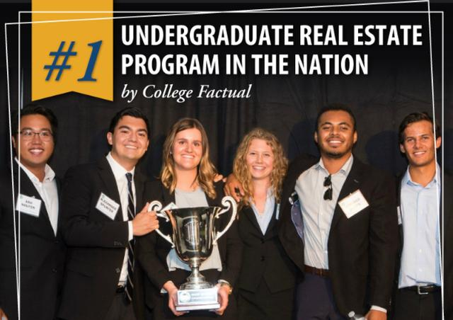 University of San Diego Real Estate Program Ranks #1 in U.S.