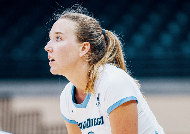 Volleyball's Roxie Wiblin speaks on training during a pandemic.