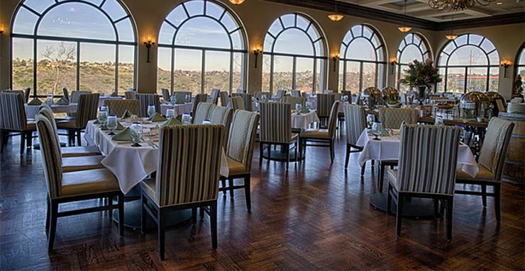 La Gran Terraza, the University of San Diego's on-campus fine dining restaurant, is participating in this week's San Diego Restaurant Week with special menus.