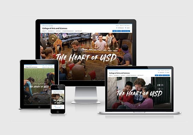 CAS website viewports