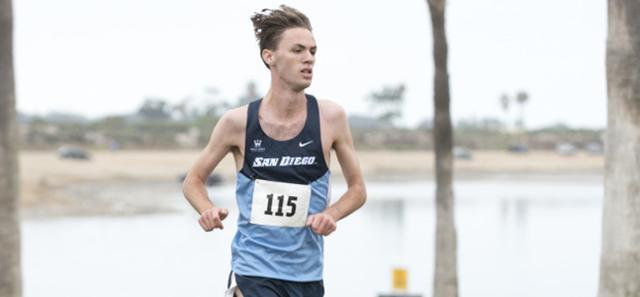 Max Pedrotti, USD men's cross country runner