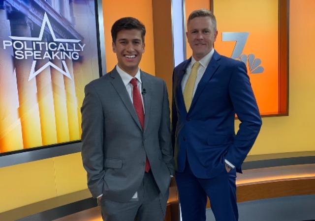 NBC's Danny Freeman and Bob Muth