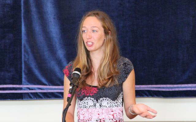 Marta Stojanovic, CAS valedictorian
