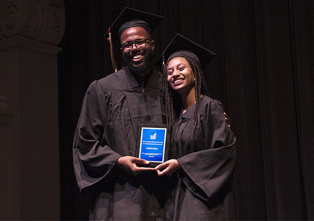 DeZell Lathon, Riley Lewis - Black Grad Trailblazer Award