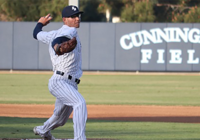 Nick Sprengel, USD pitcher