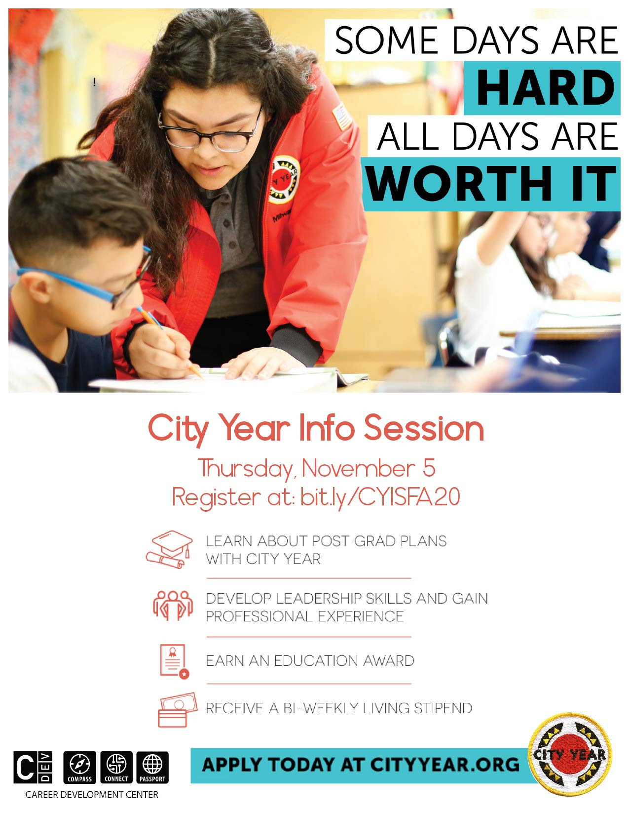 City Year flyer