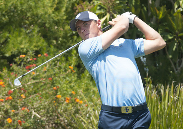 Grant Forrest, USD golfer and British Open participant