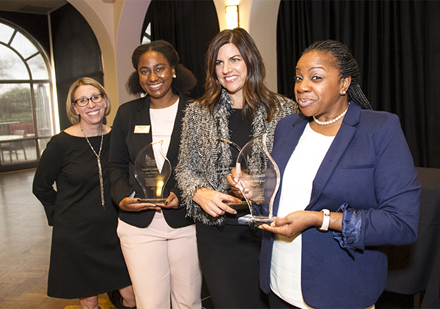ELC and 2017 Women of Impact Award winners