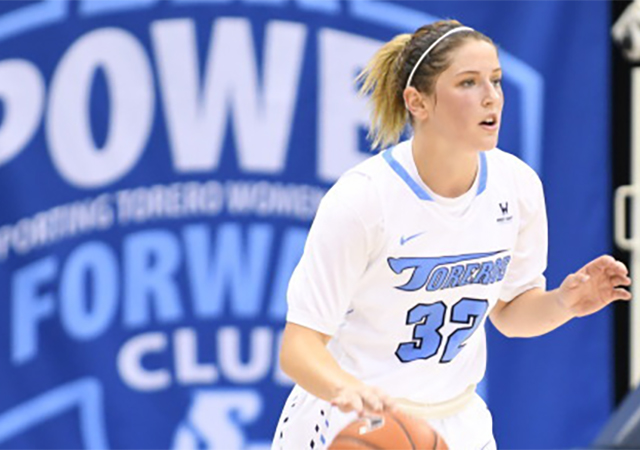 Cori Woodward, USD women's basketball