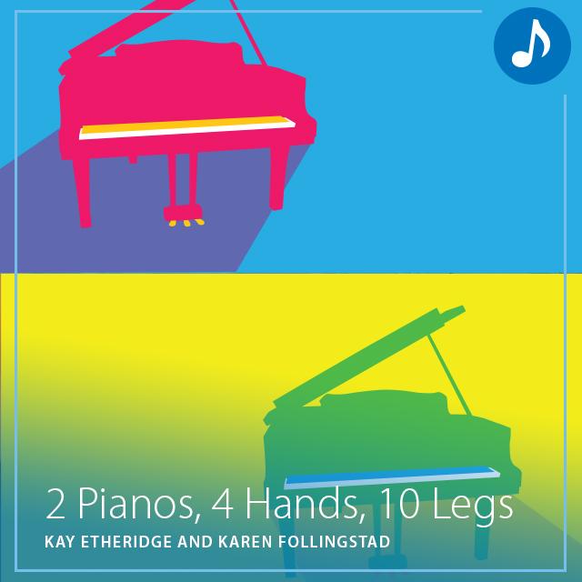 2 Pianos, 4 Hands, 10 Legs