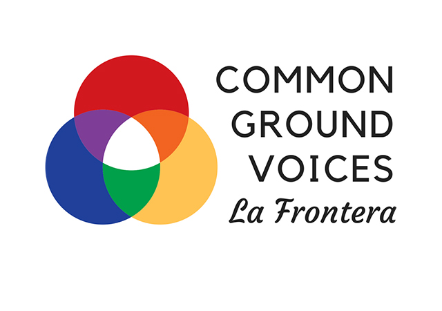 Logo for Common Ground Voices La Frontera