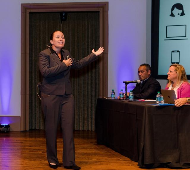 Generations Co-founder, Janaira Quigley Passionately Pitches Her Startup Idea at USD's V2 Pitch Competition