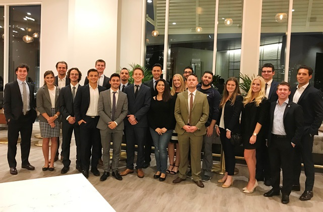 Open-house event at CBRE in UTC