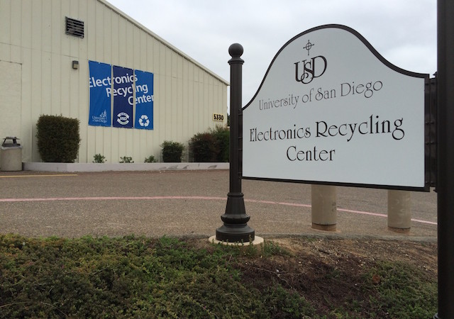 USD Electronic Recycling Center