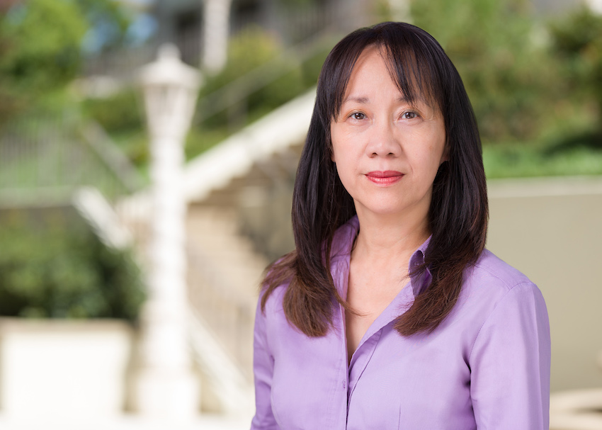 Directory photo of USD Professor of Economics Alyson Ma