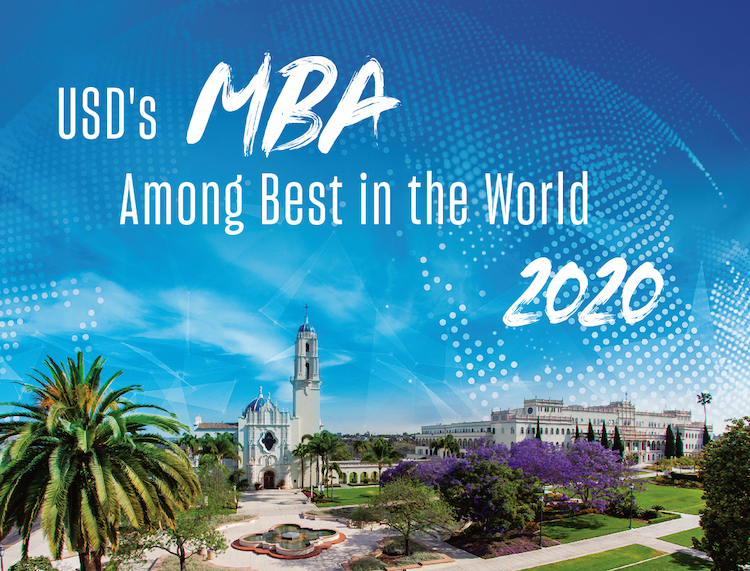 USD's MBA Among Best in the World, 2020