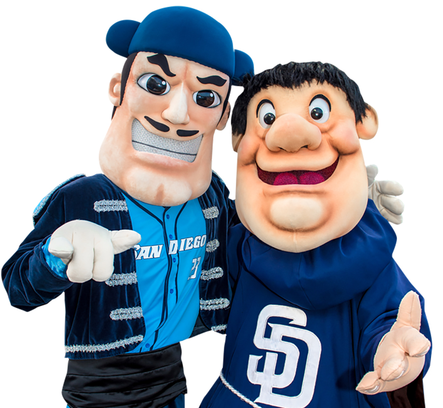 A new USD and San Diego Padres partnership will be visible at Friday's USD baseball game vs. Nebraska. The Swingin' Friar and Pad Squad will be in attendance at Fowler Park.