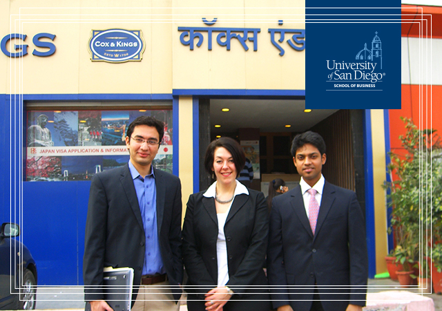 University of San Diego MBA students abroad