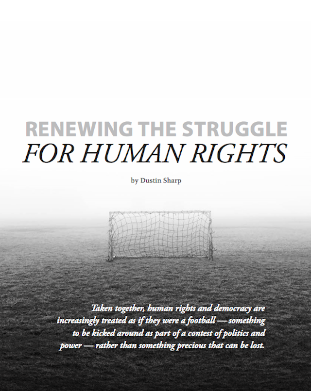 Renewing the Struggle for Human Rights