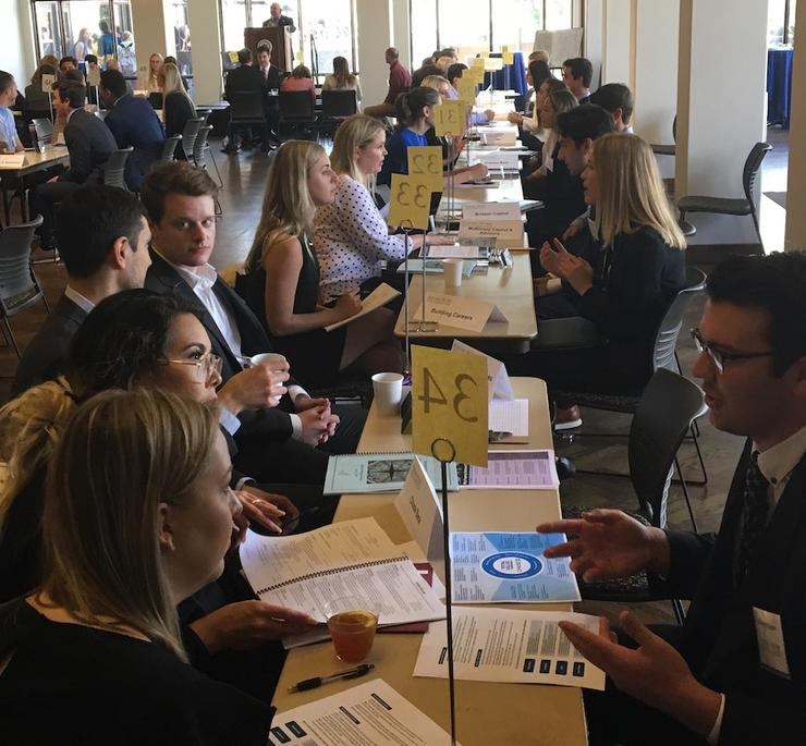 17th Annual Real Estate Career Expo Students Interviewed by Employers
