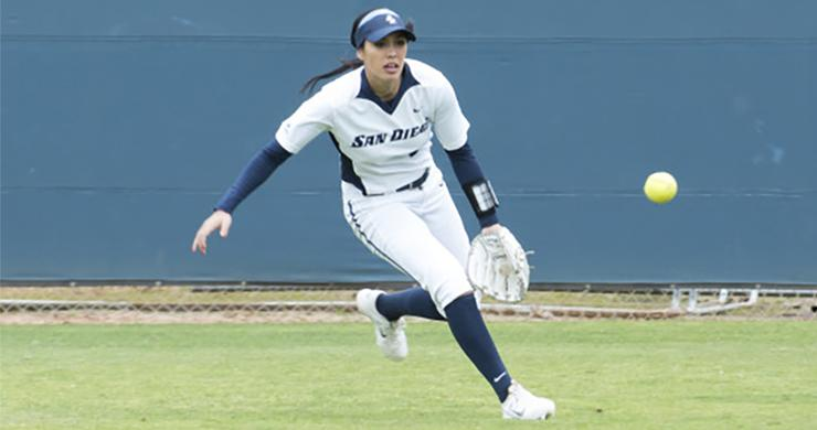 Kailey Hill, a standout senior-to-be for the USD softball team, will be playing for the Philippines' Women's National Softball Team in a pair of July tournaments.