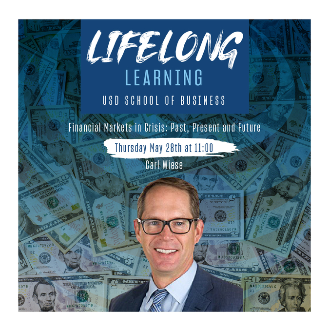 University of San Diego Lecturer in Finance Carl Wiese presents in Lifelong Learning series