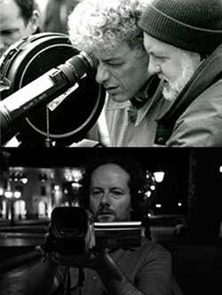 Filmmakers Paul Tana and Marco Bertozzi, respectively