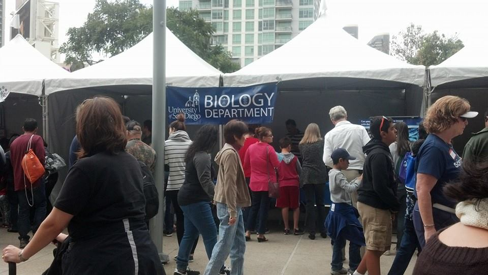 USD Biology at the San Diego Festival of Science and Engineering