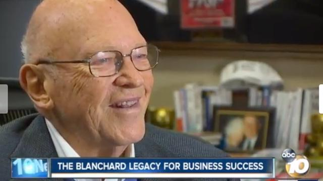 Ken Blanchard, CEO and founder of The Ken Blanchard Companies, interviewed by ABC 10