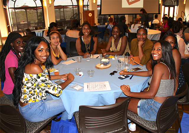 Black Students at Ole Weekend Black Student Welcome event