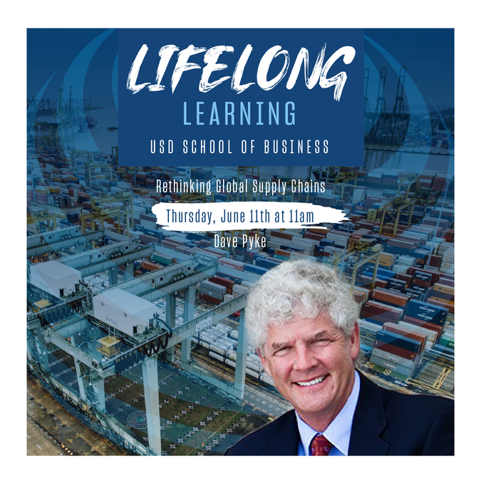 University of San Diego Professor of Operations Management Dave Pyke presents in Lifelong Learning Webinar