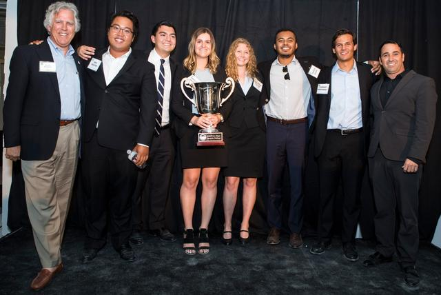 USD's Winning 2017 NAIOP University Challenge Team