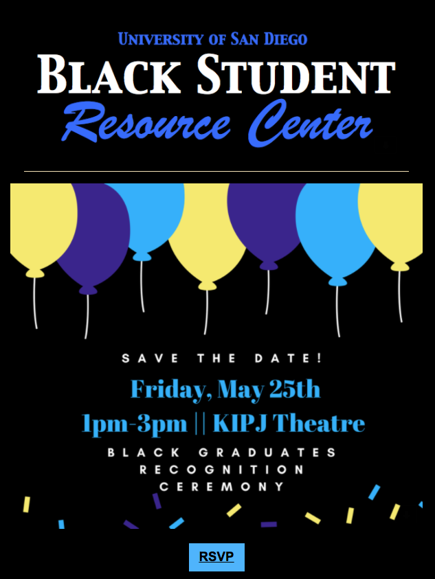 Black Recognition Ceremony Flyer- Save the Date :Friday, May 25th