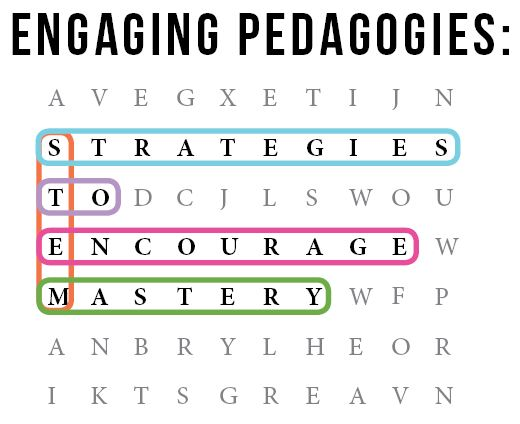 word puzzle, strategies to encourage mastery