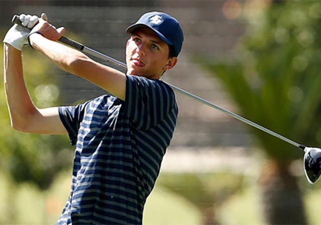 USD Golfer Dalton Hankamer