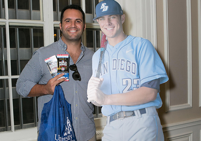 Eric Stern '07, World Series ticket winner