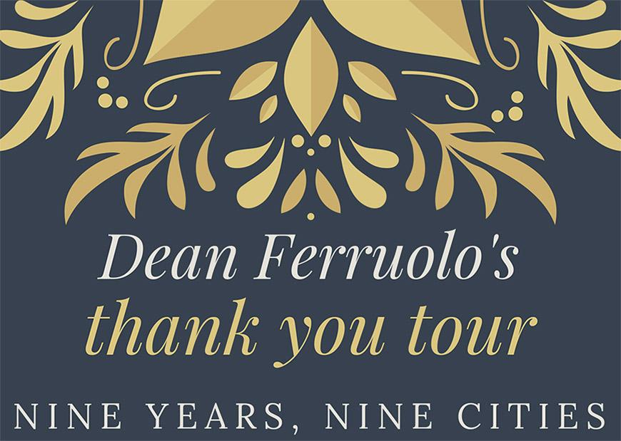 Nine Years, Nine Cities