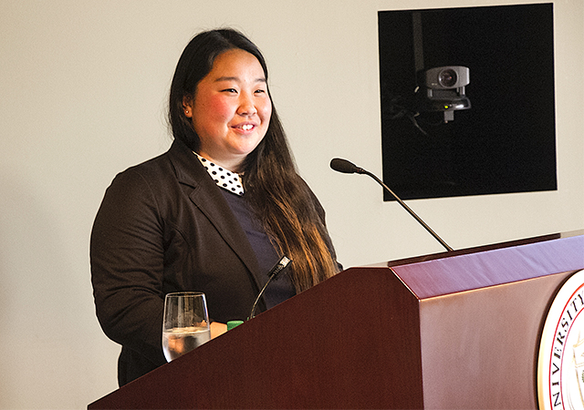 Tiffany Zhang, President for a Day