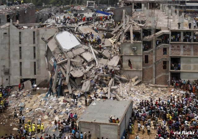 Textile Factory collapse in Bangladesh