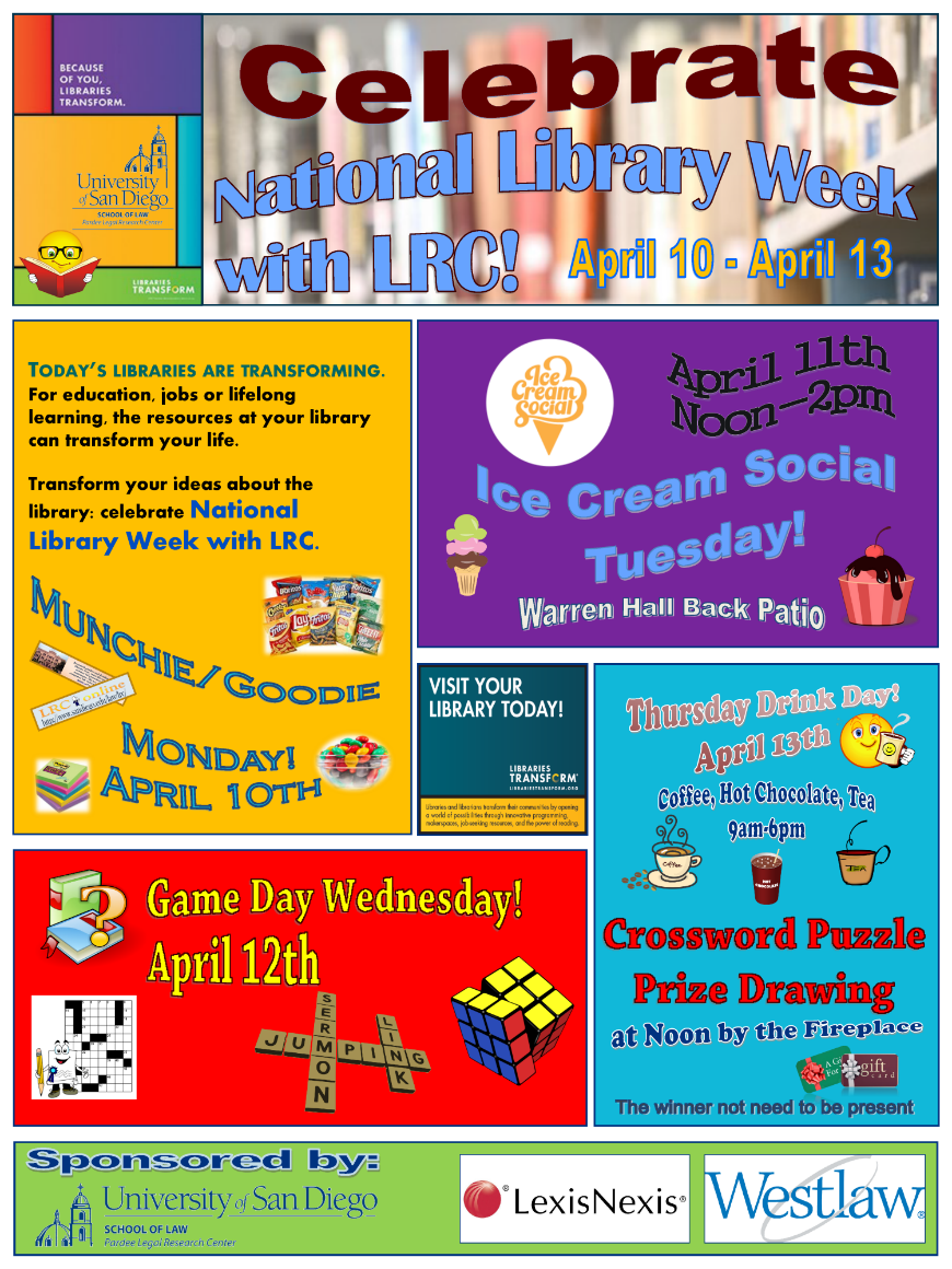 Library Week Events