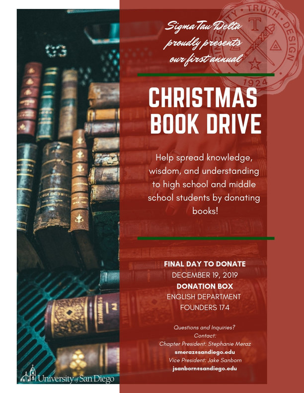 Christmas Book Drive